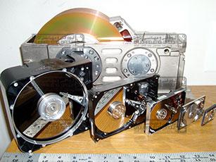 تعمیرات هارد دیسک - بازیابی اطلاعات هارد دیسک