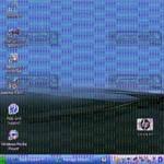 مشاهده خطوط افقی و عمودی در ال سی دی لپ تاپ