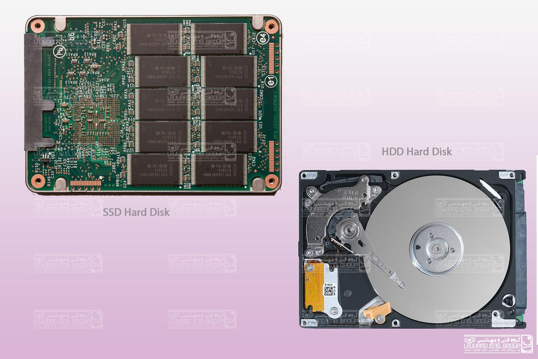 شناخت هارد دیسک های SSD
