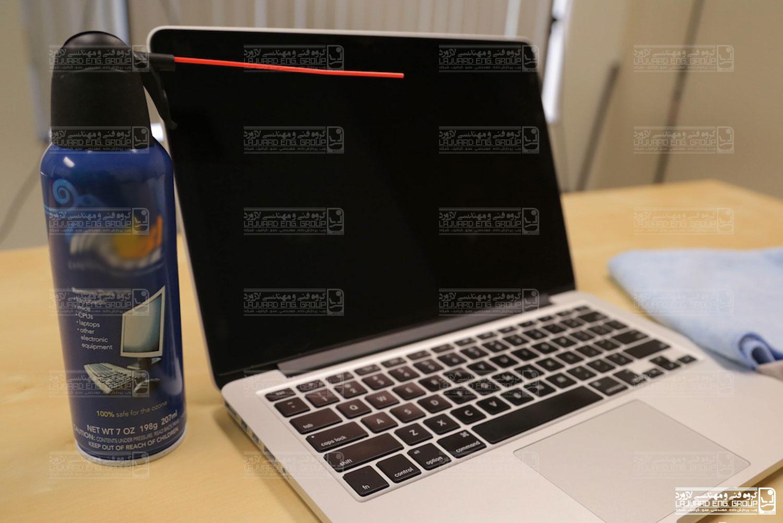 نحوه تمیز کردن لپ تاپ
