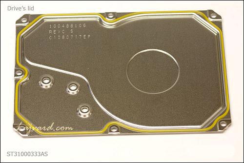 درپوش HDA هارد دیسک یا lid