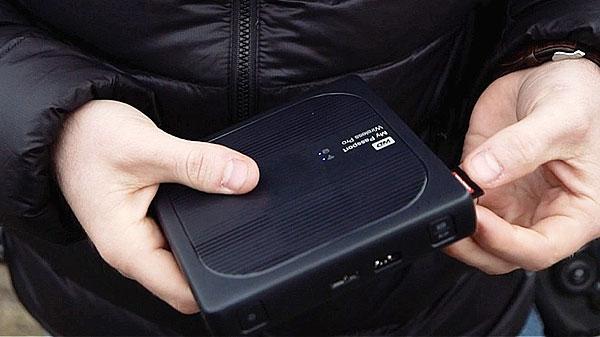 هارد My Passport Wireless Pro