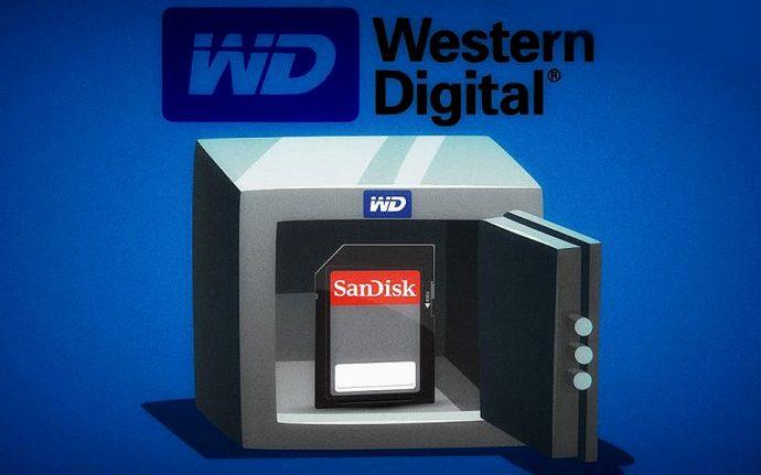 وسترن دیجیتال مالک سن دیسک می شود