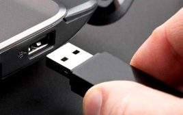 حل مشکل USB device not recognized