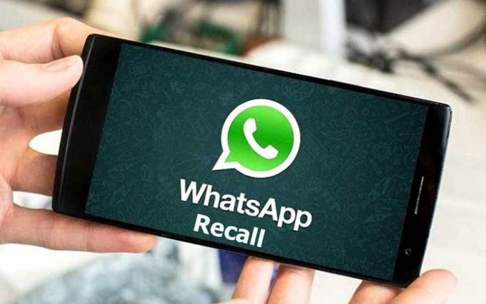 ویژگی جدید Recall در واتس اپ